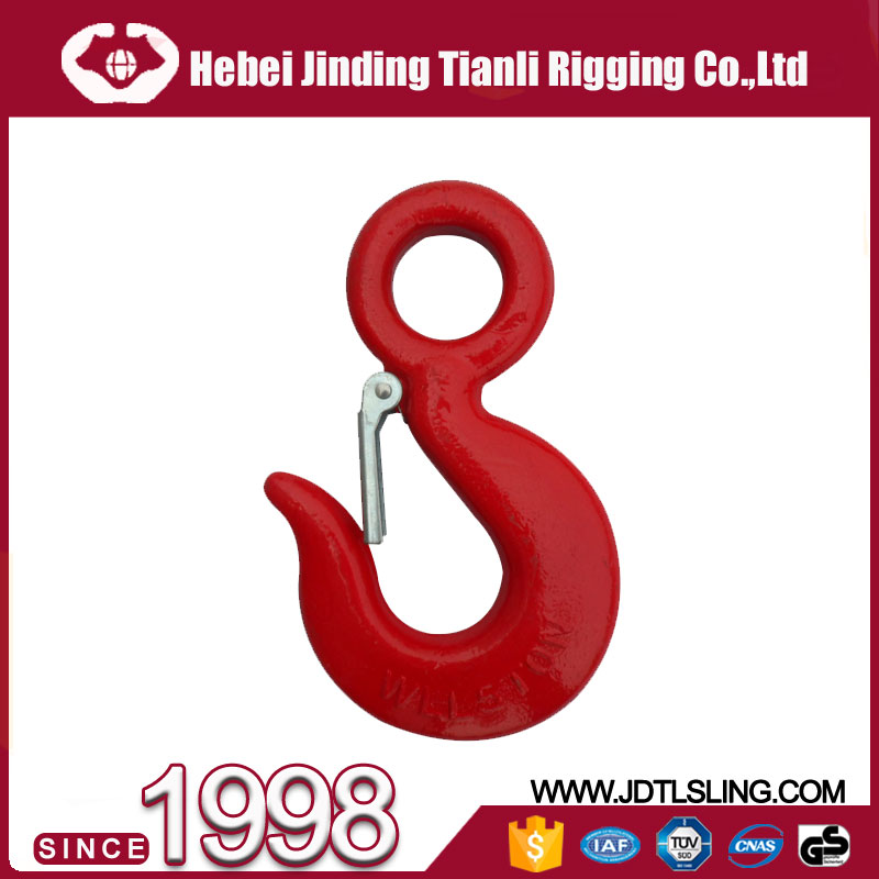 Large-scale Hoisting Enquirement Crane Eye Lifting Hook with alloy steel material