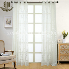 China Factory Customed jacquard curtain with valance
