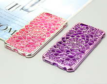 2016 Top selling mobile phone accessories unique bumper case with tpu material and diamond flower for iphone