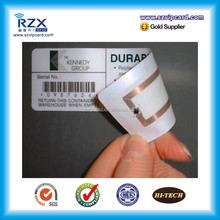Cheap waterproof printable HF/UHF RFID clothing lable tags