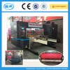 hqm nc auto rotary die cutting machine lead edge feeding , corrugated cardboard rotary die cutting machine