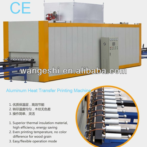 aluminum heat transfer printing machine