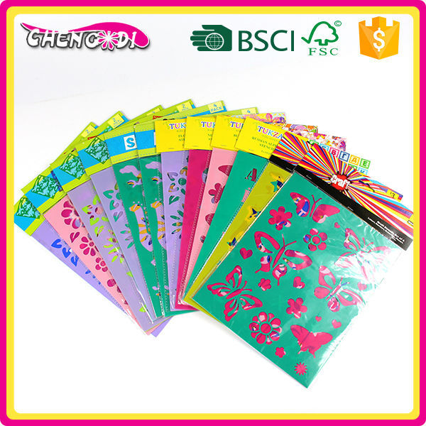 Superstyle promotional fantastic cute manufacturer stencils