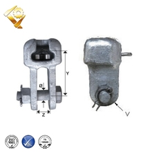 power pole line hardware hot dip galvanized socket clevis