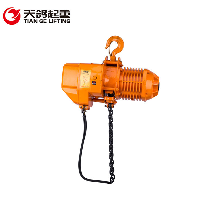 2017 High Quality 0.5-5 Ton Construction Elevator CE TUV Certified Electric Chain Hoist