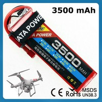 Rc Remote Control Helicopter Plane 3500Mah 25C 7.4V Rc Car Battery with XT60 Connector