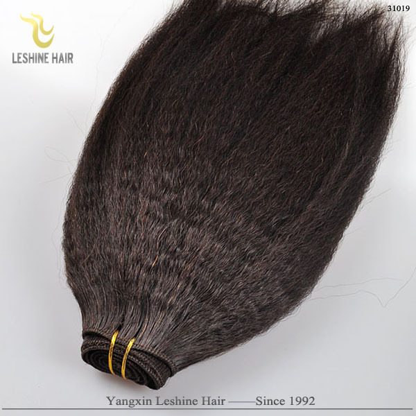Factory directed wholesale cheap coarse kinky afro hair in hair extension