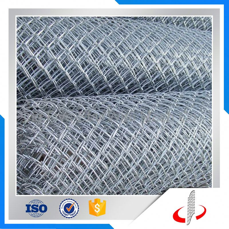 Hot Dipped Galvanized Iron Chain Link Fence