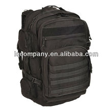 Black Camping Military Large one Compartment backpack,army rucksack