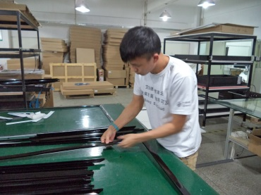 Infrared LED Tube Assembling (Touch Monitor, Touch Frame and Screen)