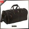 Medium Vintage Leather Overnighter Duffel Travel Bag Leather Duffel Bag Mens