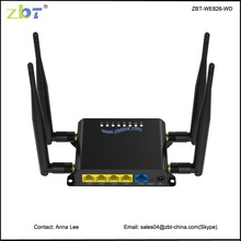 Good quality openwrt 12v car 3g/4g lte rj45 wireless wifi router with sim card slot