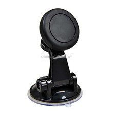 Strong Magnetic magnet universal all size cell phone auto window shield glass mount holder-shiny black
