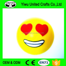 Wholesale Cute PU Squeeze Ball Emoji Stress Ball