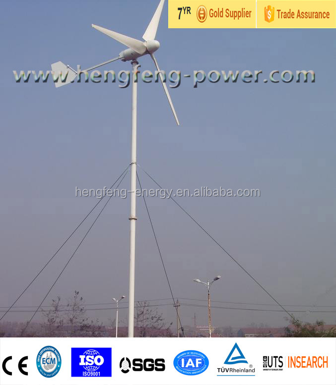 Wind circulation small size generator
