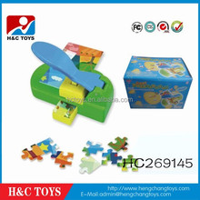 2015 New product DIY picture jigsaw puzzle die cutting making machine HC269145