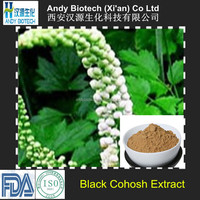100% Natural Hot Selling Triterpenoid Saponis 2.5% Black Cohosh Extract