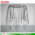 European ghost table magic side table acrylic home furniture