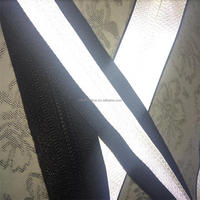 3m yellow orange silver Reflective warning strip fabric tape for clothes