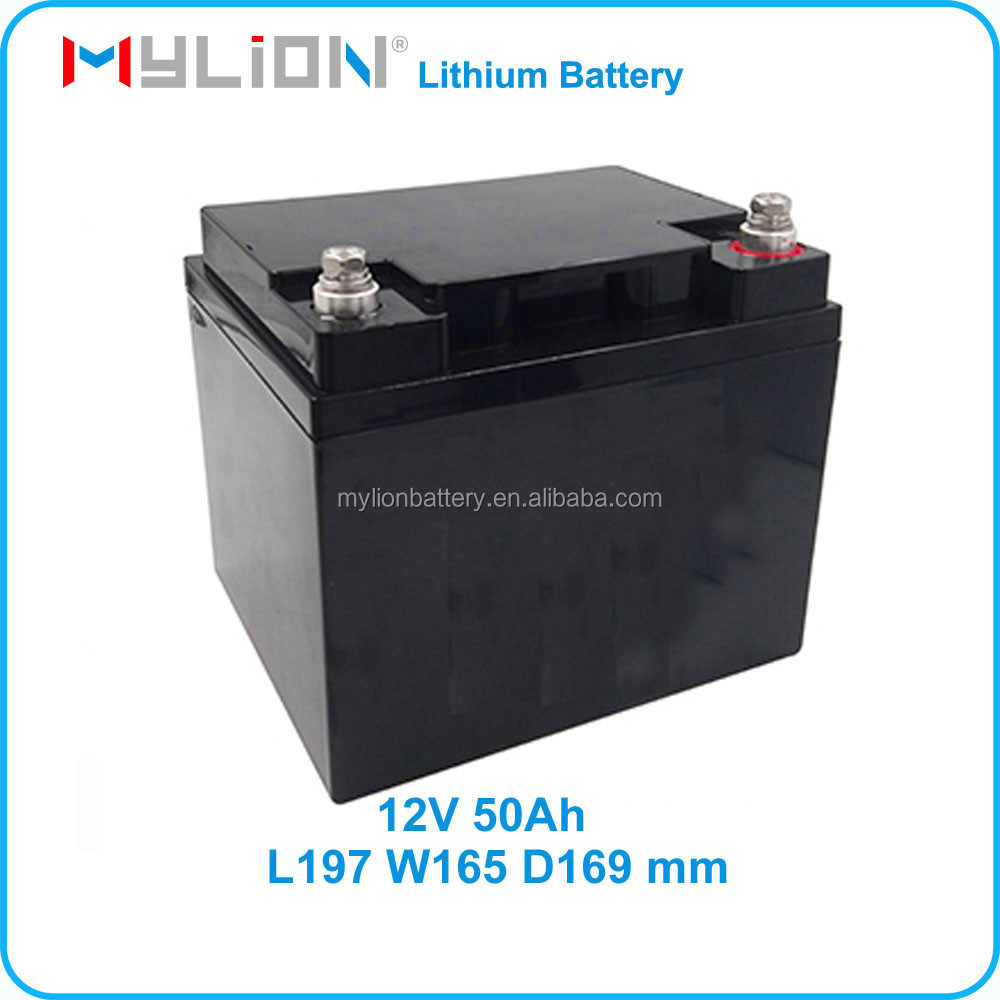 Car starter or Electric Vehicle 12v lifepo4 car battery 50Ah