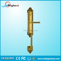 China Key Code Fingerprint Door Lock with Master Cylinder Made in China For Door Security