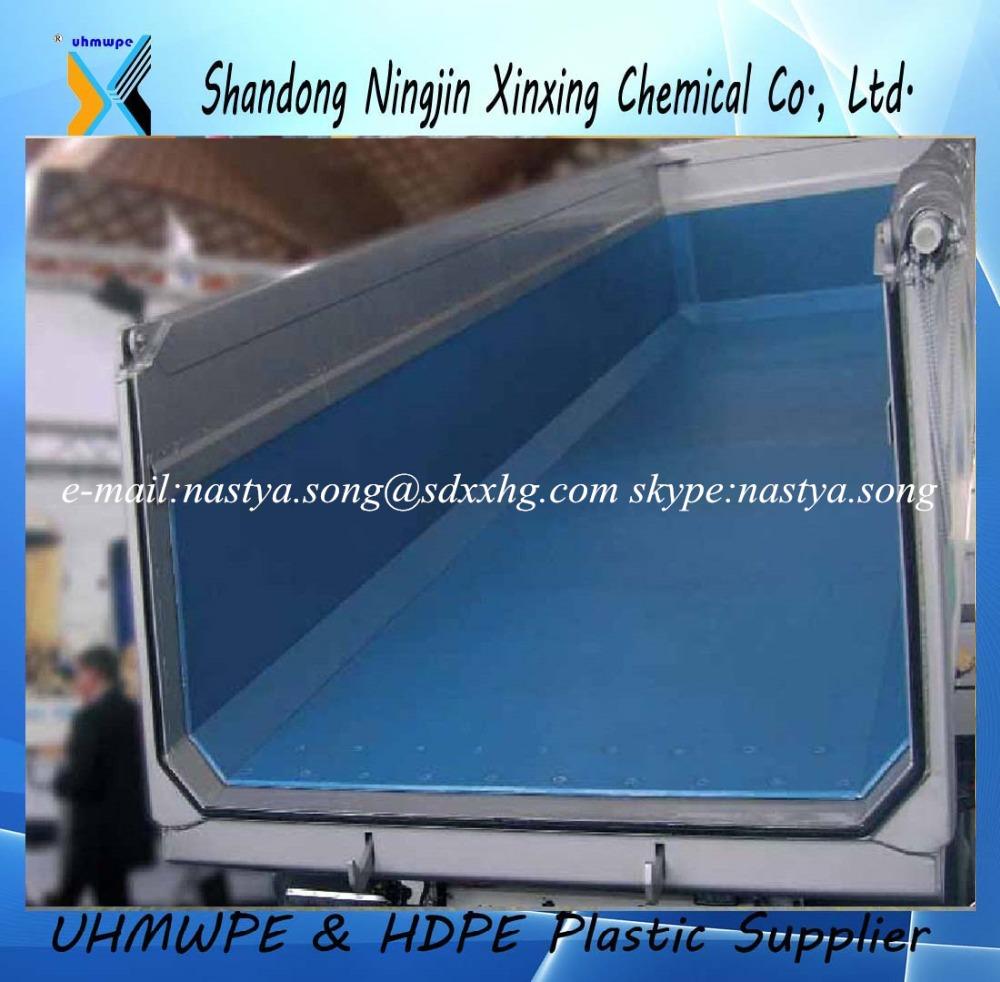 Uhmwpe truck bed linerpe dump truck linerssuper slide corrosion resisting bed lining sheet