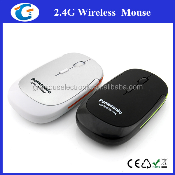 Cordless Rubber Case Mouse Good Quality With 4 Keys