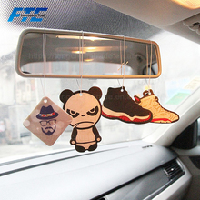 Customized Pleasand Scented Hanging Paper Car Air Freshener with Logo