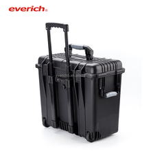 Everich 17'' Watertight Peli Case With Wheels Trolley Tool Case Waterpoof and Shockproof Hard Case