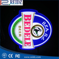 Wholesale frameless Decorated light box advertising beer