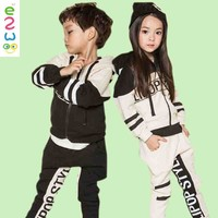 2015 Fahion Hoodies Latest Design In Kid Wear Children's Clothing Sets