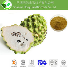 ISO/GMP Manufacturer Supply 4:1 graviola soursop extract fresh fruit from honghao