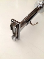 Slotted Upright Wall Mounted Adjustable Bar/Bracket