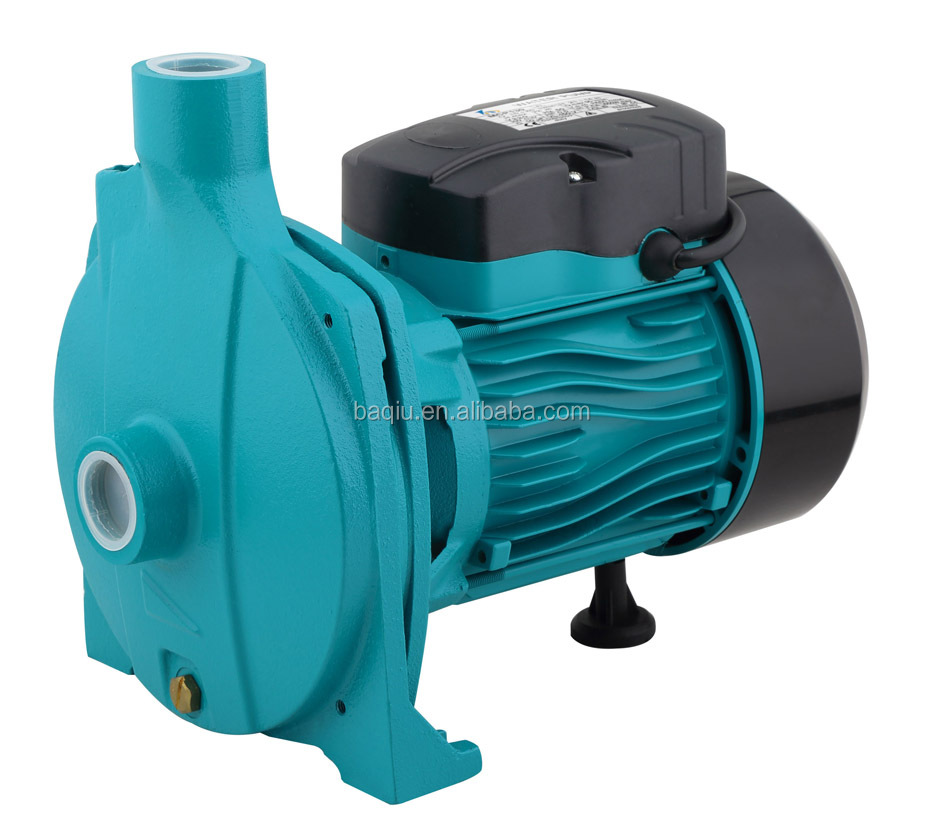 China electric water pump price of 1hp centrifugal water pump for sale