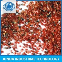 industrial sand blast 80 80 garnet stone price used for cnc cutting machine
