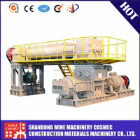 China leading sintered bricks small brick production making machine by 10 years experience professional manufacturer