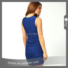 Professional latest net dress designs for wholesales