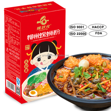 Instant rice noodle with FDA/HACCP/ISO certificate