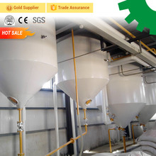 30 ton per day oil processing plant uses edible vegetable wheat germ flaxseed cotton seed palm crude oil refining machine