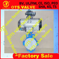 BV-SY-425 wafer butterfly valve for chemical industry from tianjin factory