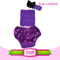 Children thong bikini wholesale USA bloomer sweet print panties spandex diaper cover sparkle baby boys sequin bloomers wrap suit