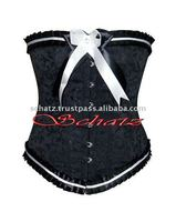 Jacquard Brocade Women Steel Bond Slimming Corset