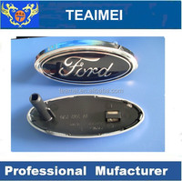 ABS chrome car sticker grill front emblem badge for ford