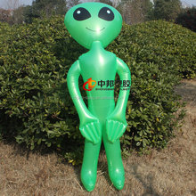 New modern design various styles PVC inflatable toys green extra-terrestrial