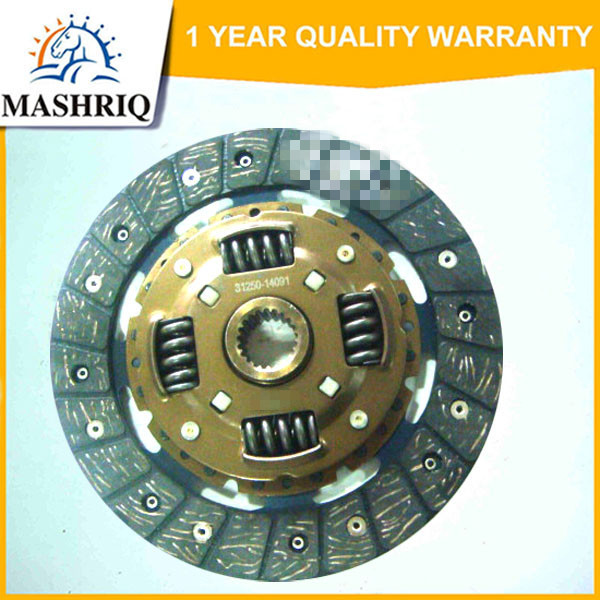 TY14 clutch disc for Daihatsu Charmant VPH number TY14
