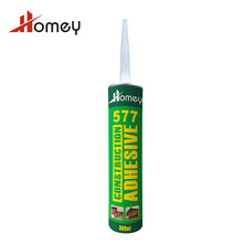 Homey 577 polystyrene liquid nail adhesive to stick plastic to metal