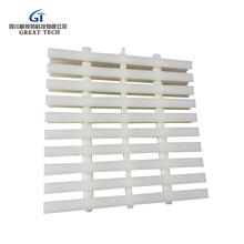 Factory supply high quality swimming pool gutter pvc grating material