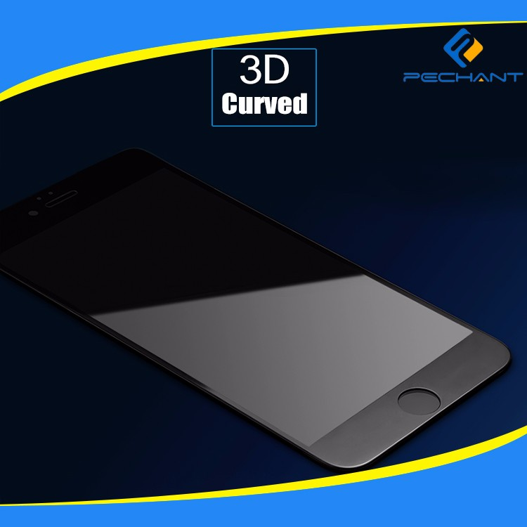 2017 hot new products full cover 3D screen protector tempered glass for iPhone 7 Plus with Certificate SGS/RoSH