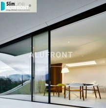 Slim line Thermal Heat and Acustic Australian and US certificated aluminum sliding door with double low-E Glazing