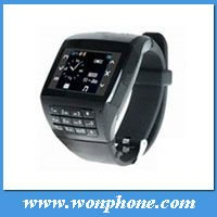 hot sale Quadband Bluetooth Camera 1.33inch Touch Screen EG200 Wrist Watch Mobile Phone